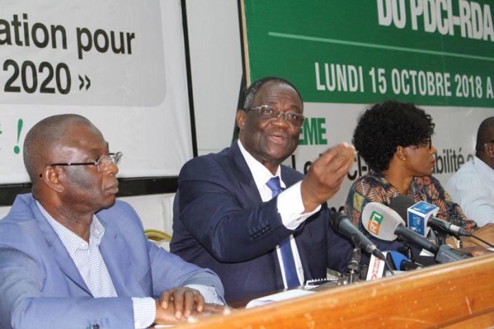 PDCI,RHDP,Me Emmanuel Marsigny,Me Romain Dupeyre,Maurice Kakou Guikahué