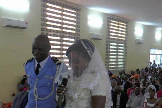 Association des épouses de policiers de Côte d'Ivoire,Mariage collectif,Ecole nationale de police,Police
