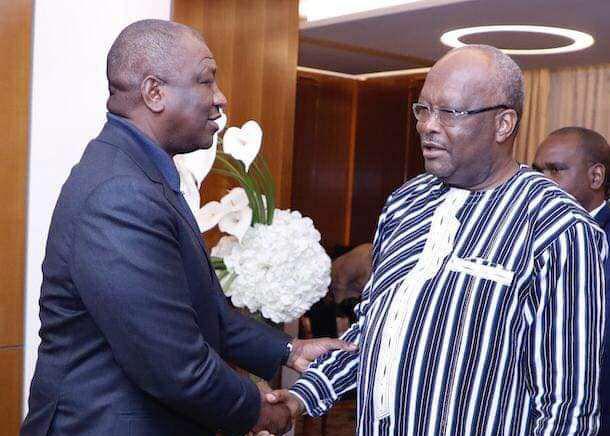 le-president-burkinabe-presente-ses-condoleances-au-ministre-hamed-bakayoko