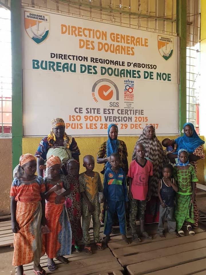 trafic,douanes,noé,enfants,Niger