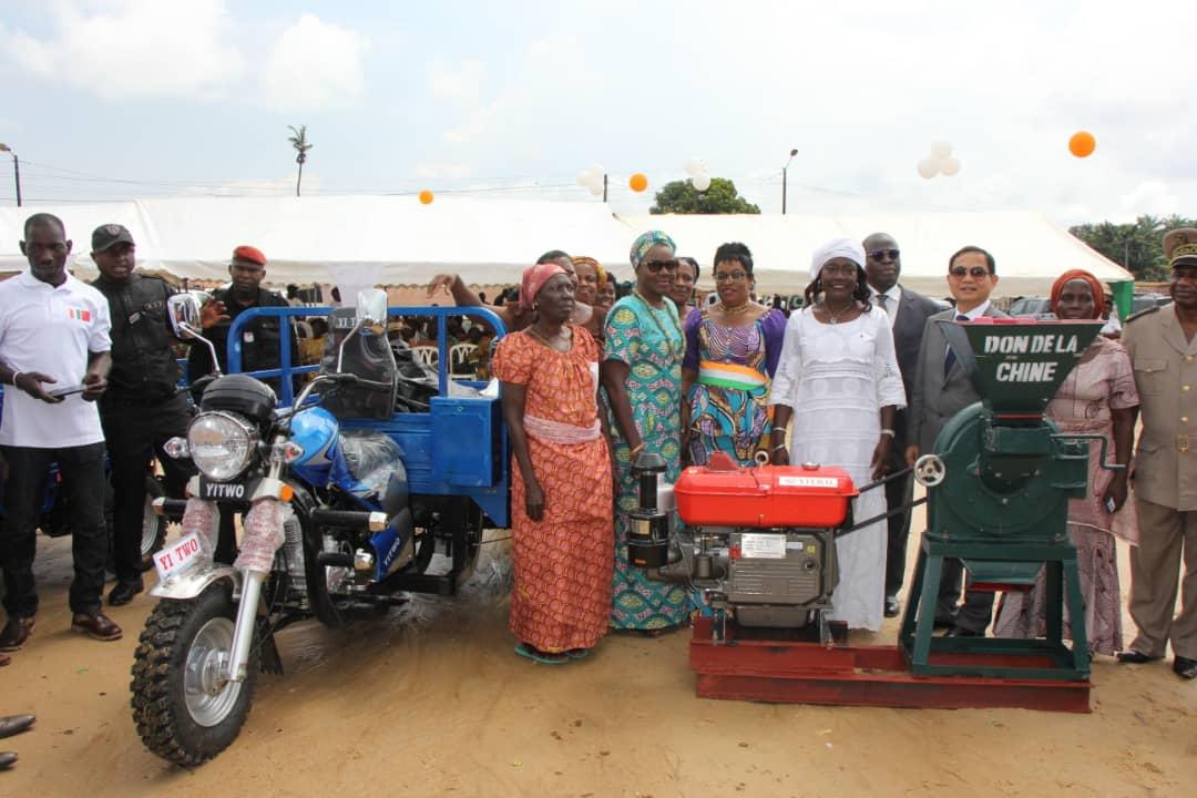 22ème édition,journée nationale de la paix,Dabou,Mariatou Koné,2018