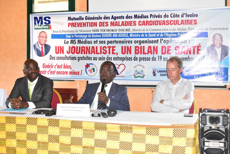 Ms Média,Aka Aouélé,Cissé Sindou,un journaliste un bilan de santé