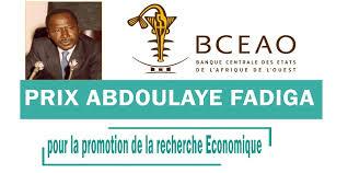Vigninou Gammadigbe,6ème édition du Prix Abdoulaye Fadiga pour la promotion de la recherche économique,Bceao,Dakar