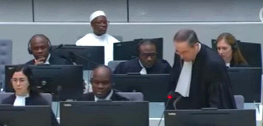 CPI,22 novembre 2018,Blé Goudé,Fatou Bensouda,Cuno Tarfusser