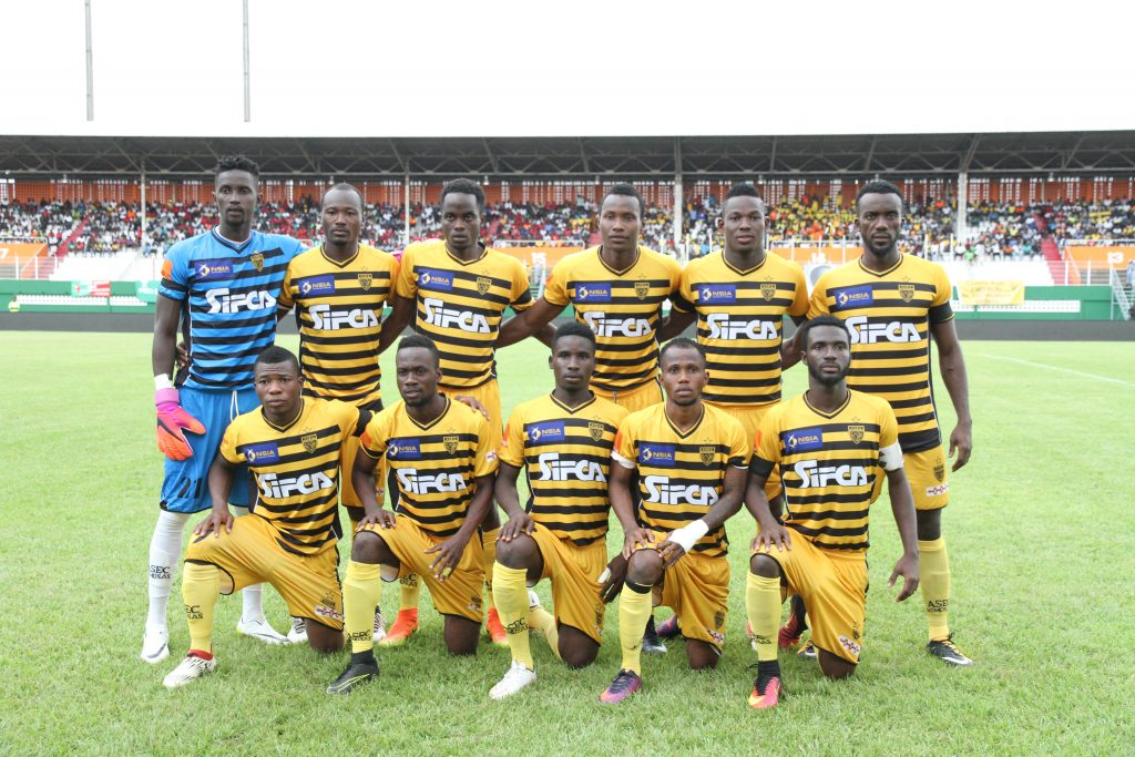 Football,LIGUE1,Asec mimosas - Moossou FC