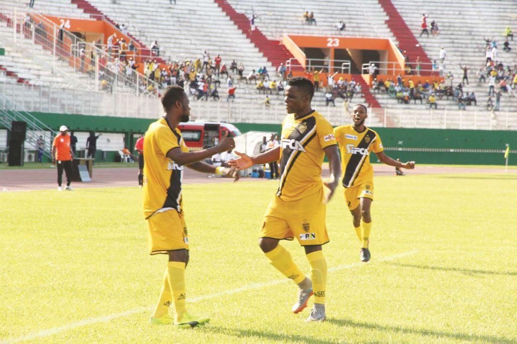 Football,Ligue africaine des Champions/ Tour préliminaire : L'Asec s'impose devant Mangasport du Gabon (1-0)