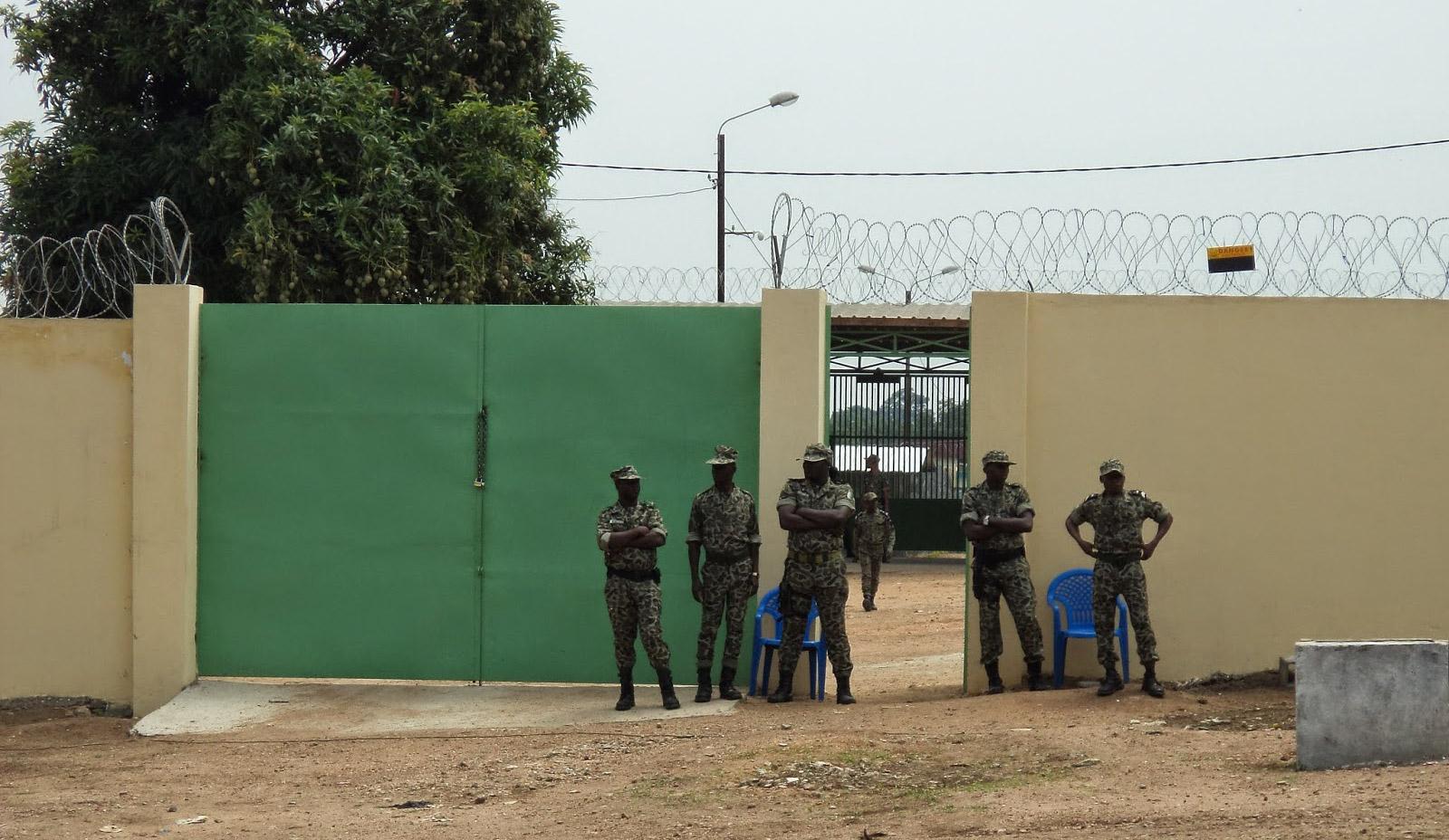 Affrontement garde pénitentiaire - Étudiants,Bouaké,Affrontement