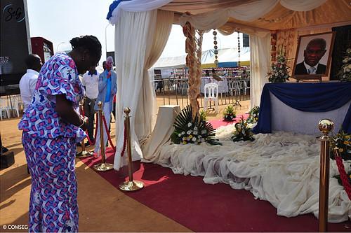 Aboudramane Sangaré,Simone Gbagbo,Hommage,Yopougon FICGAYO