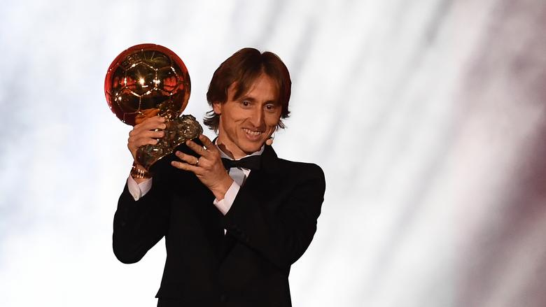 Football,Balon d'or 2018 / le croate Luka Modric sacré devant Ronaldo et Griezmann,Balon d'or France Football 2018