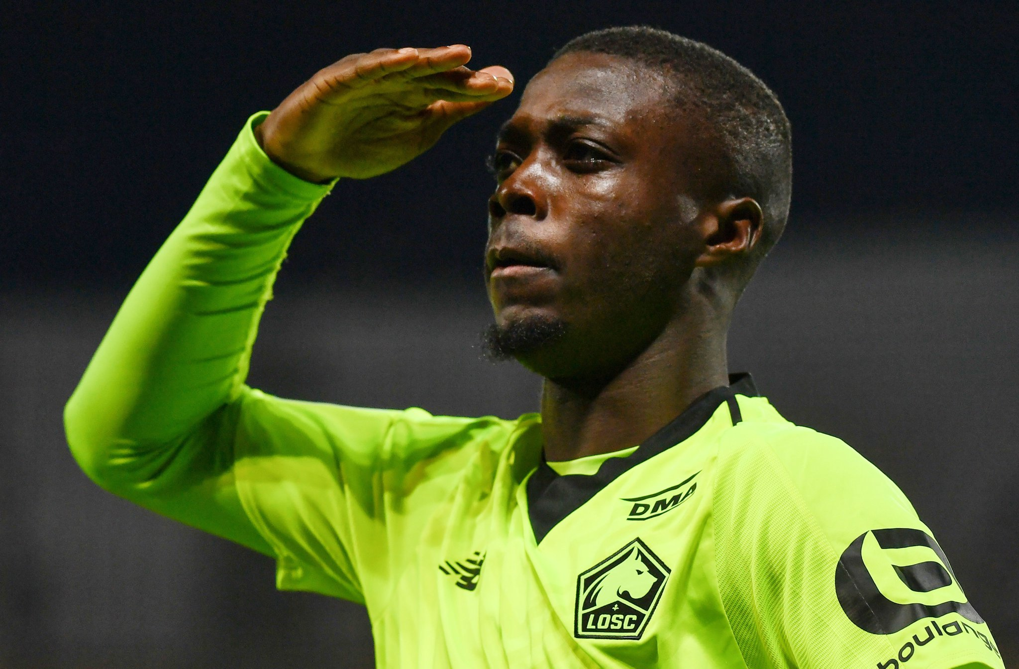 Football,Nicolas Pépé,Ligue1 France,Lille,Losc