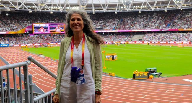 Athmétisme,Interview/ Anna Leganni (directrice adjointe de la communication de l'IAAF) : Pour avoir un responsable de la communication dans une fédération,il faut un minimum de moyens,Anna Leganni,Iaaf,fia