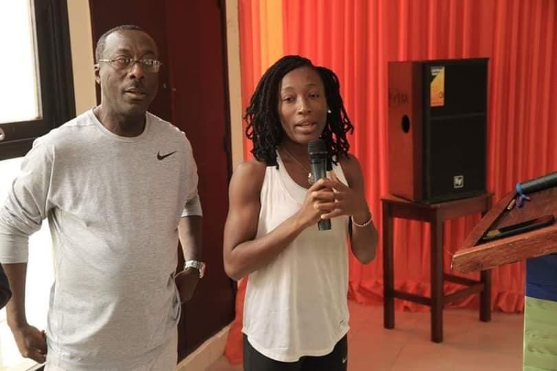 Athlétisme,Promotion de l'athlétisme en Afrique/  Le message de Ta Lou aux journalistes ivoiriens,Ta lou Marie Josée