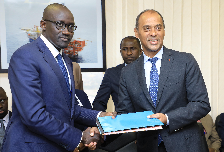 Thierry Tanoh,Cissé Abdourahmane,Passation de charges,Ministère du Pétrole, de l'Énergie et des Énergies renouvelables