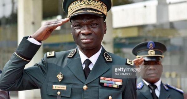 Sécurisation electione,Touré Sekou,chef d'été major,gran-Bassam