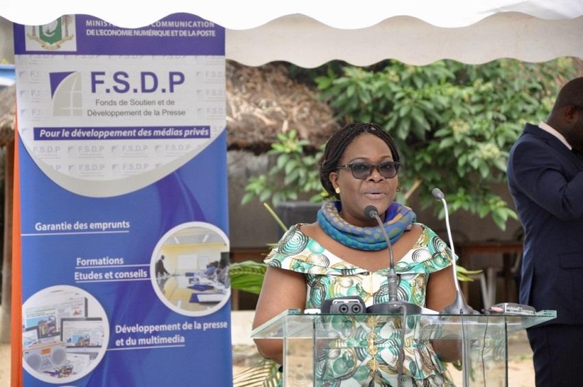 FSDP,INTERVENTION AU PROFIT DES MEDIAS,CEREMONIE