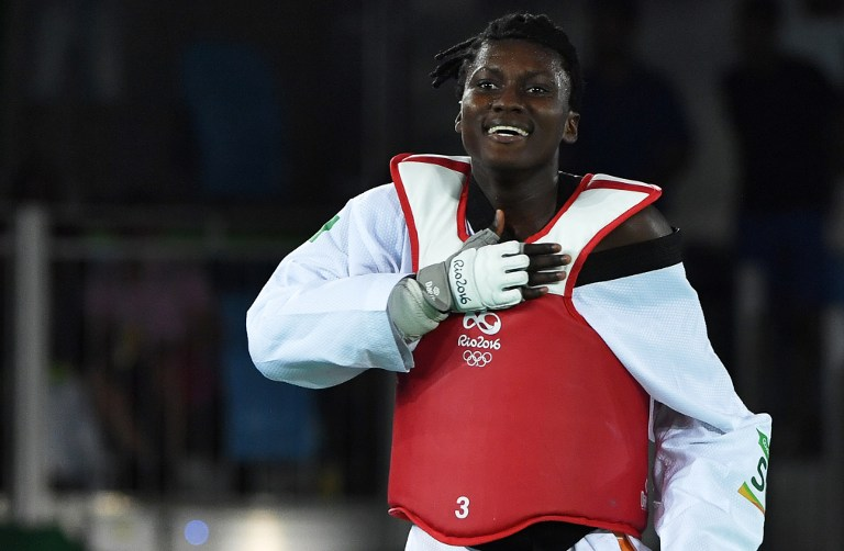 Taekwondo,Gbagbi Ruth,Tournoi du grand slam