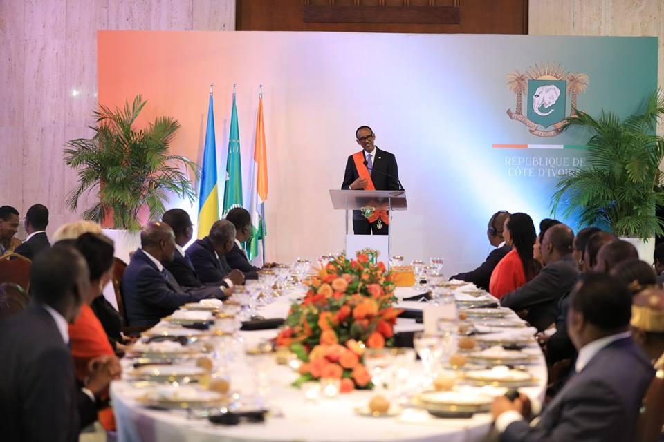couple présidentiel rwandait,visite d'état,protocole d'accord