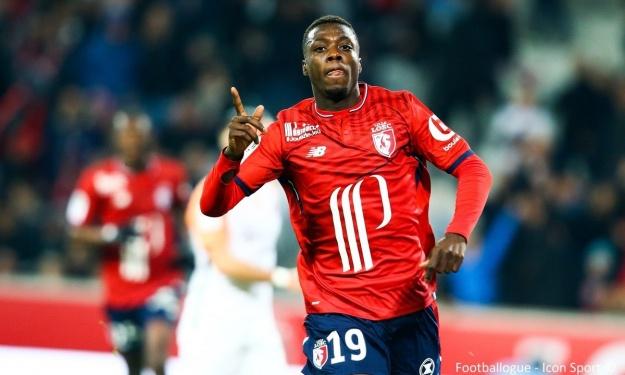 Football,Nicolas Pépé,Nicolas Pépé meilleur buteur de ligue1