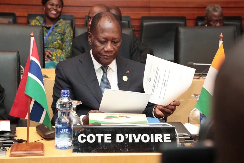 Le président Ouattara au 54ème sommet ordinaire de la CEDEAO à Abuja