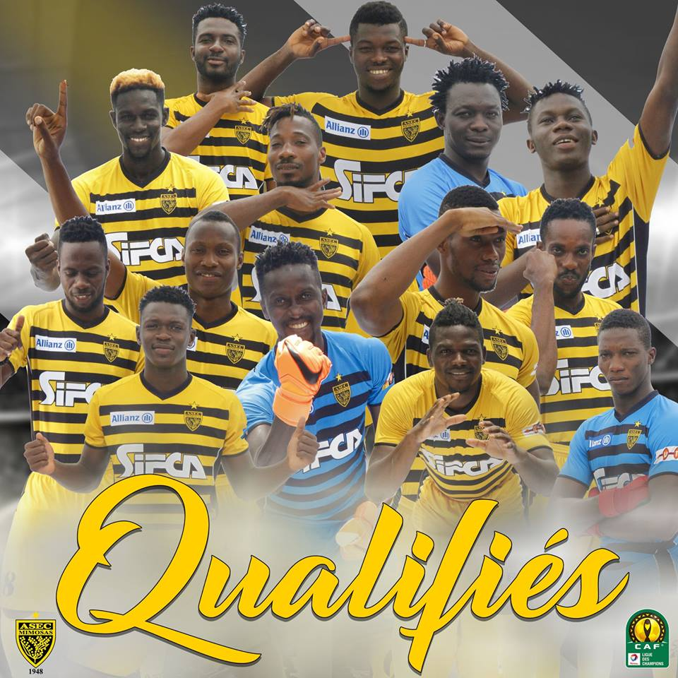 Football,Ligue africaine des champions,Asec-mimosas