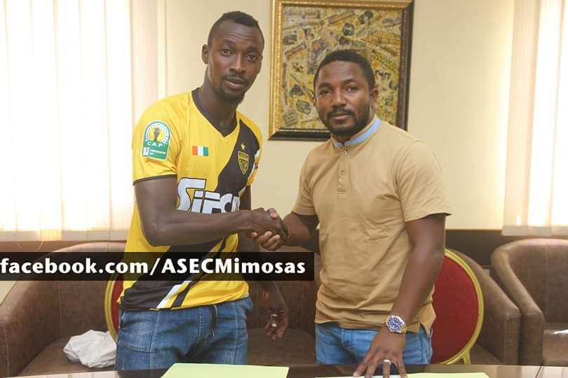Football,Bagaté Salif pose ses valises à  l'Asec Mimosas