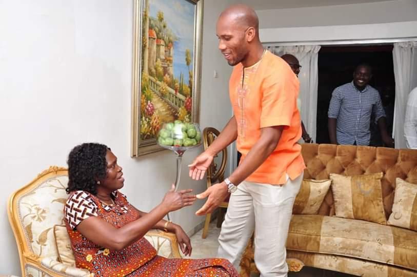 Simone Gbagbo,Didier Drogba