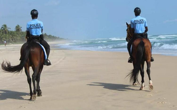 Grand-Bassam,Attaque terroriste,Tourisme,Brigade montée