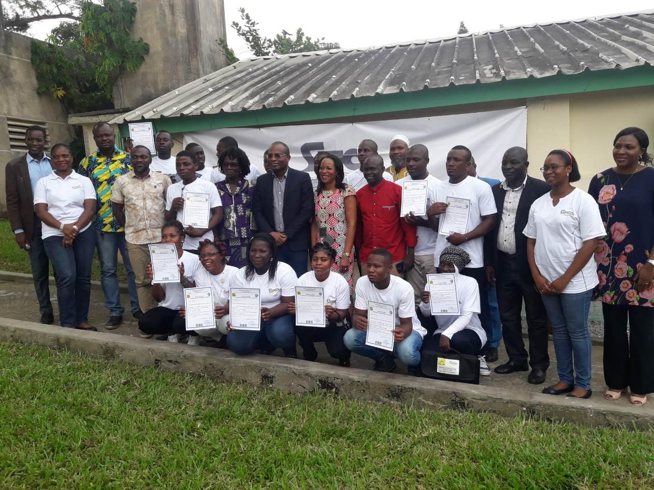 formation,Sifca,Unfpa,15 étudiants