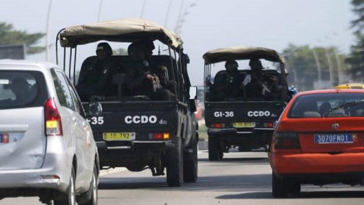 Côte d'Ivoire,Plateau,Dispositif sécuritaire