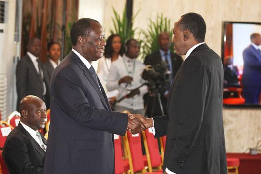 Côte d'Ivoire / Les présidents des institutions de la République ont présenté leurs vœux au Chef de l'Etat Alassane Ouattara