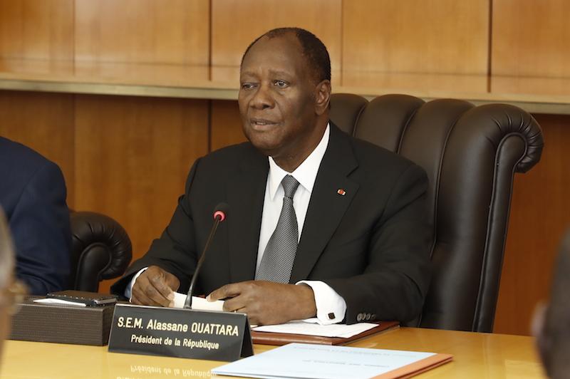 Côte d'Ivoire,Alassane Ouattara,1er Conseil des ministres,Chef de l'Etat