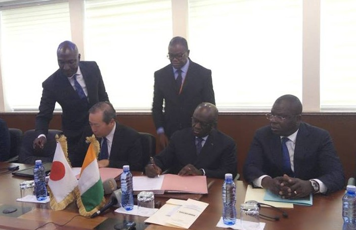 Côte d'Ivoire,Coopération ivoiro-japonaise,échangeurs