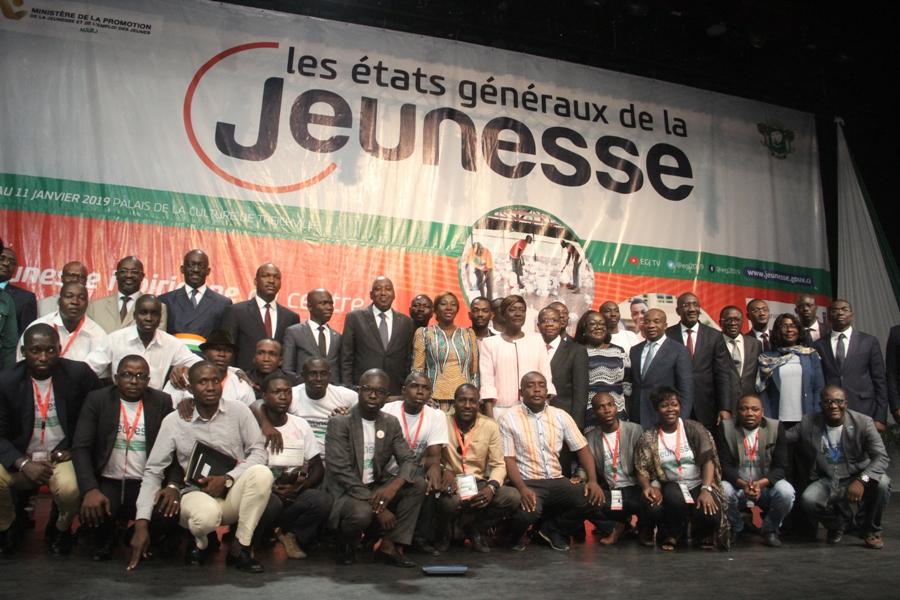 Côte d'Ivoire,Etats généraux,Jeunesse