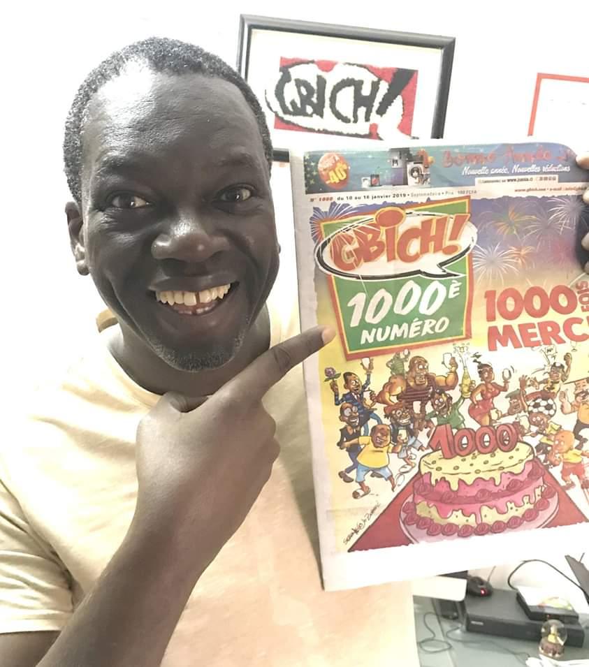 Gbich !,Lassane Zohoré,1000e numero