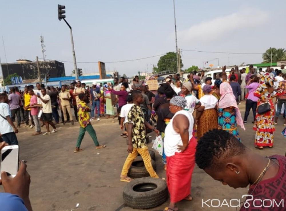 Protestation familles de victimes,victimes de la crises post élèctorale,Abobo