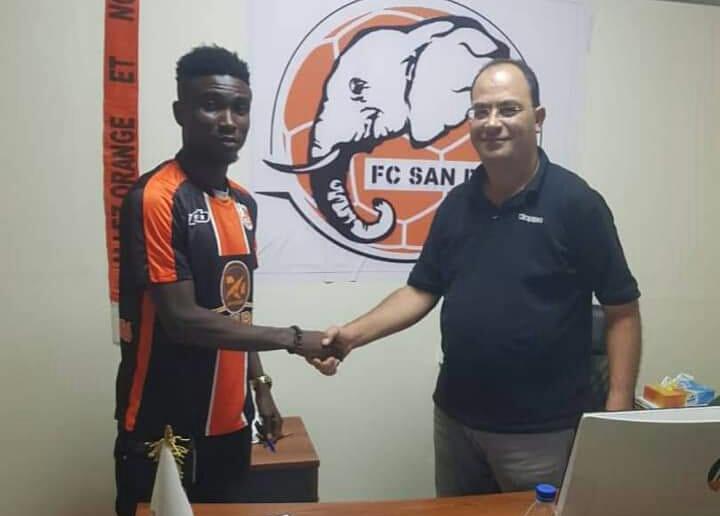 Football,Fc San Pedro,Koffi Constant Kouamé