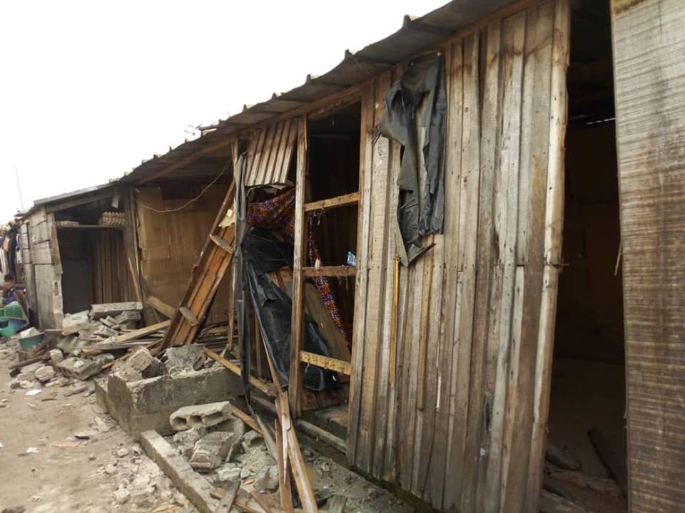 Côte d'Ivoire,Koumassi,Un huissier détruit 50 maison par erreur