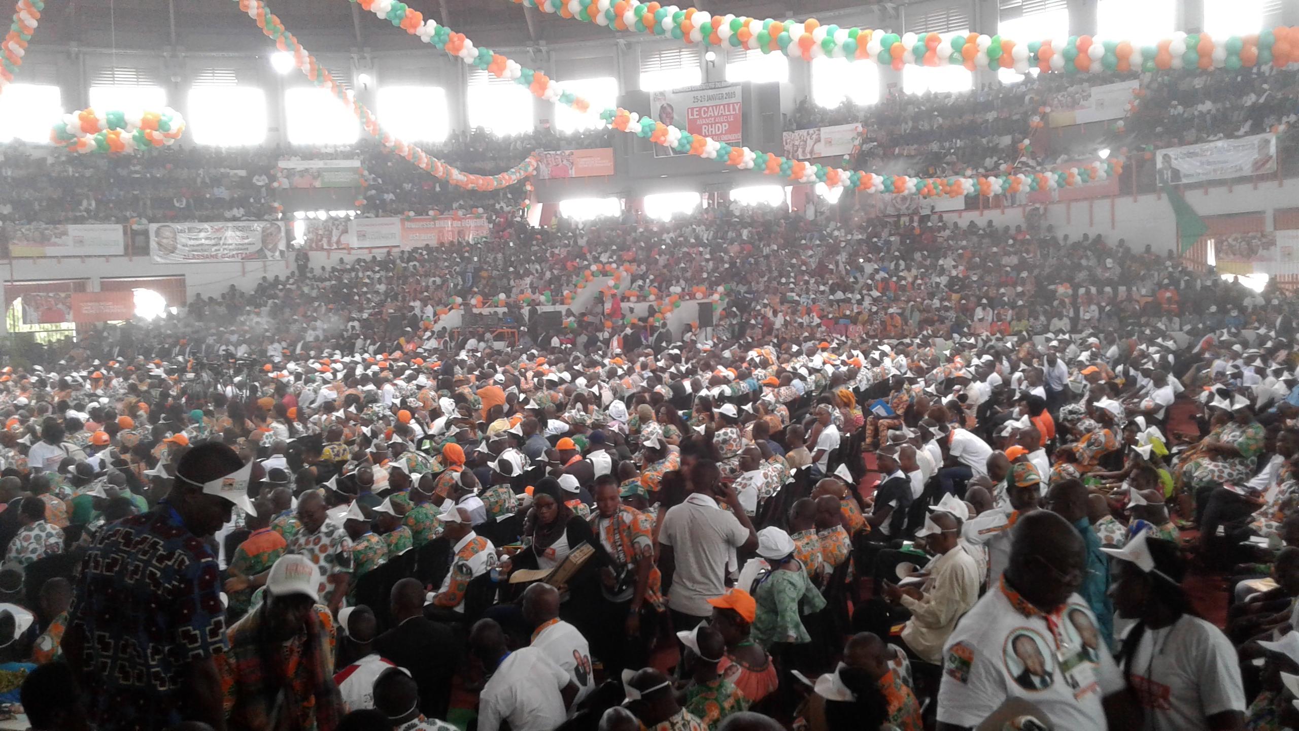 RHDP,Mobilisation,Congrès