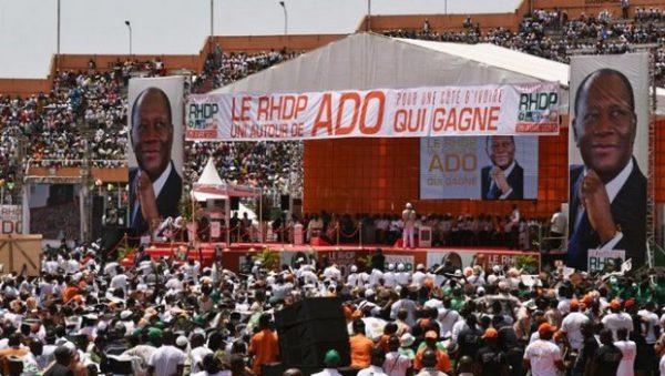 Côte d'Ivoire,RHDP,Congrès