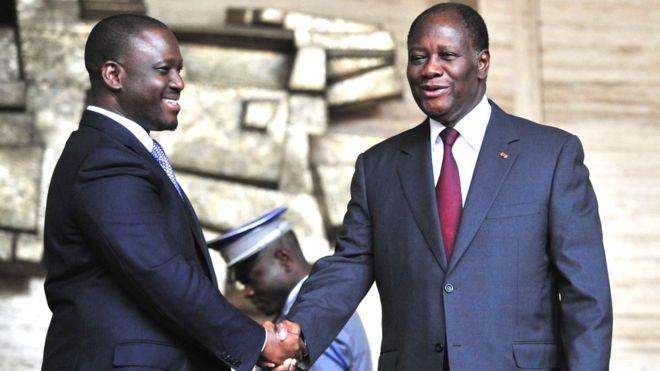 Côte d'Ivoire,démission guillaume soro,Ouattara