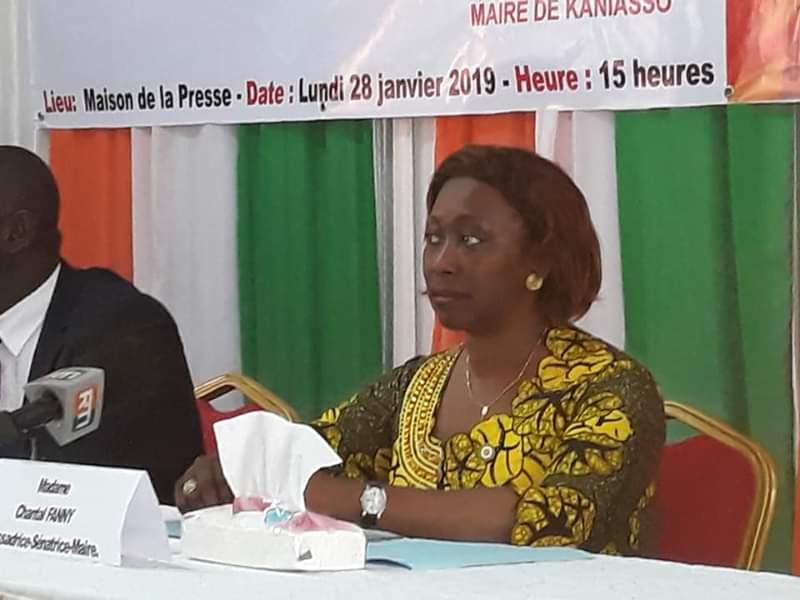 Leadership féminin,Chantal Fanny,UNJCI,Maison de la presse,Émergence