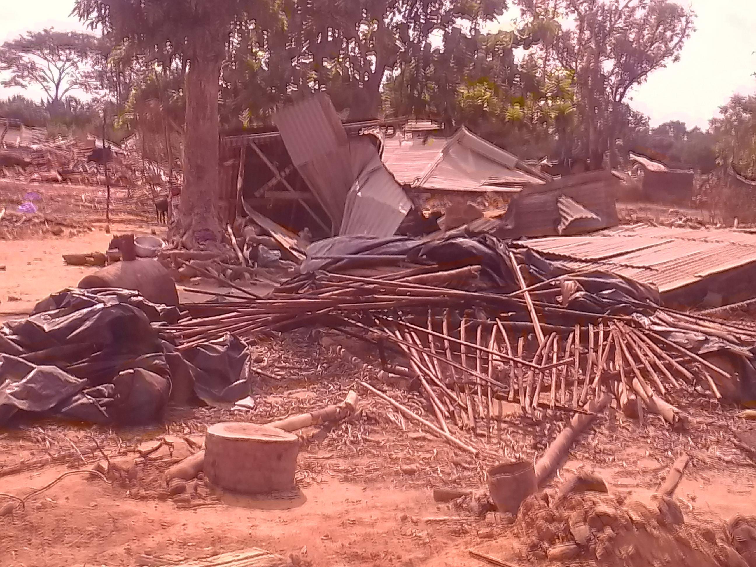 Côte d'Ivoire,Guiglo,Déguerpissement