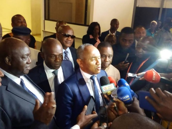Football,Can 2023,Ahmad Ahmad à Abidjan