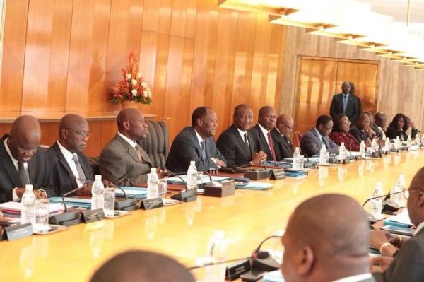 Côte d'Ivoire,Conseil des ministres