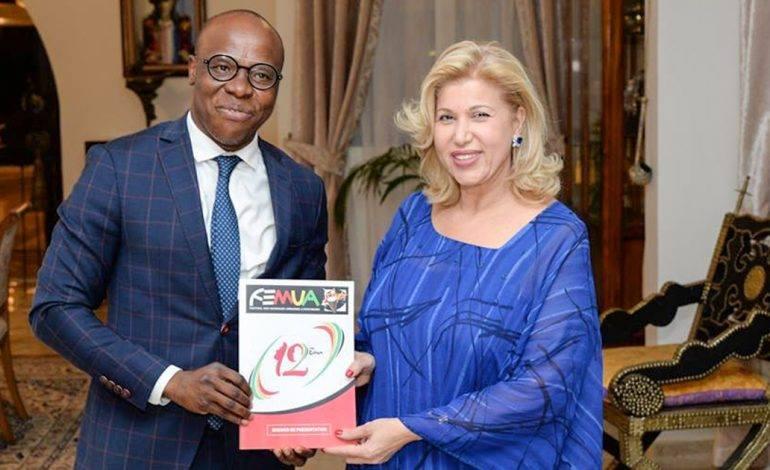Côte d'Ivoire,  Femua 12, Genre et Développement,  Dominique Ouattara,