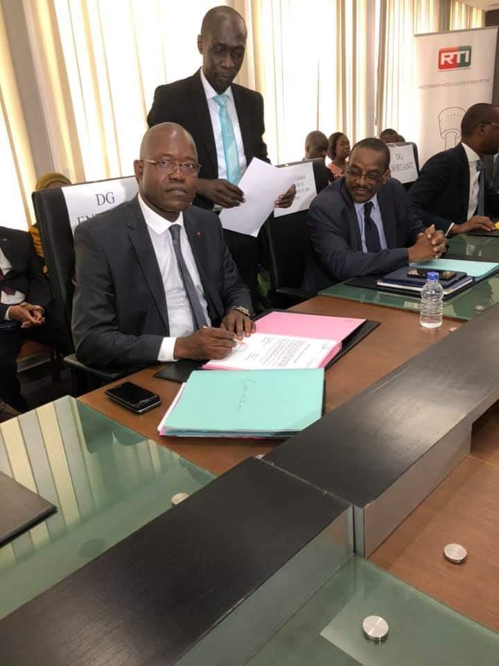 Côte d'Ivoire,  RTI, Dembélé Fausseni,