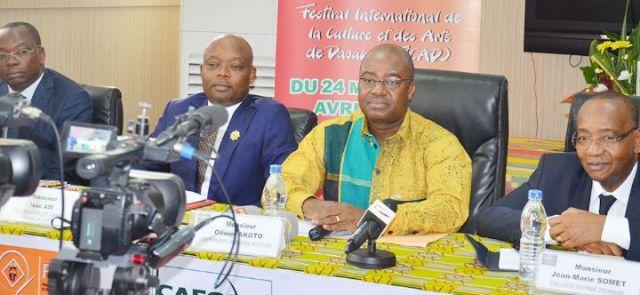 Daoukro,Ficad,Olivier Akoto