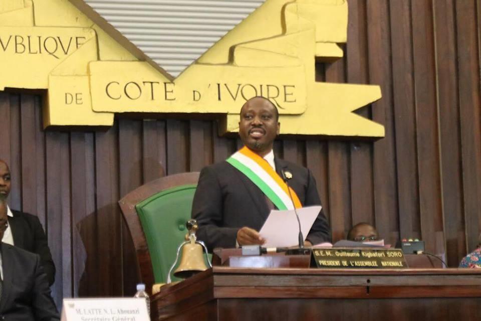 Soro Guillaume,Côte d'Ivoire,Assemblée Nationale,démission