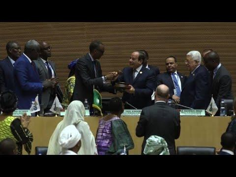 Union africaine,Paul Kagamé,Al Sisi