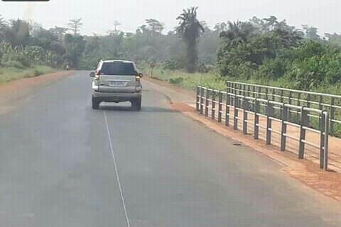 Côte d'Ivoire,route Akoupé-Kotobi,réhabilitée